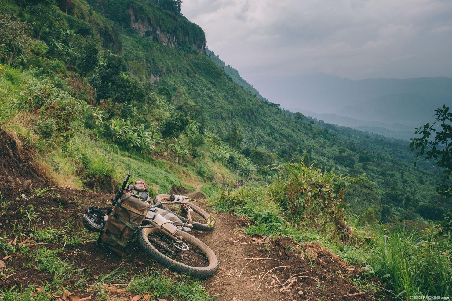 9 days bikepacking through the wilderness of Uganda