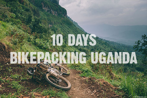 10 days of bikepacking in West Uganda Copyright