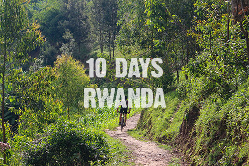 10 days of cycling in Rwanda
