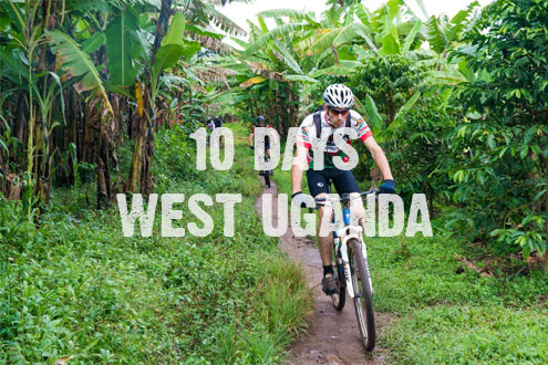 10 days cycling in west uganda